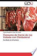 libro Consumo De Carne De Res Tratada Con Clenbuterol