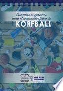 libro Cuaderno De Ejercicios Para El Preparador Físico De Korfball