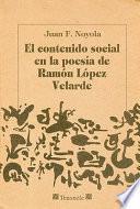 libro El Contenido Social En La Poesía De Ramón López Velarde