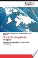 libro El Efecto Del País De Origen