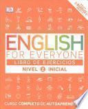 libro English For Everyone: Nivel 2 Inicial, Libro De Ejercicios