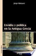 libro Envidia Y Politica En La Antigua Grecia