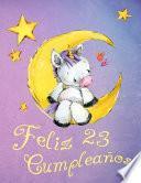 libro Feliz 23 Cumpleaños