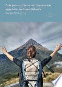libro Guía Para Auxiliares De Conversación Españoles En Nueva Zelanda. Curso 2017 2018