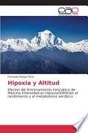 libro Hipoxia Y Altitud
