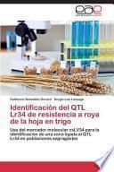 libro Identificación Del Qtl Lr34 De Resistencia A Roya De La Hoja En Trigo