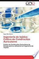 libro Ingeniería De Tejidos: Cultivo De Condrocitos Auriculares