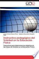libro Instructivo Pedagógico Del Voleibol En La Educación Física