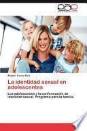 libro La Identidad Sexual En Adolescentes