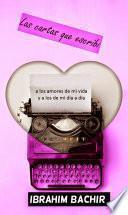 libro Las Cartas Que Escribí