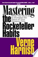 libro Mastering The Rockefeller Habits