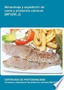 Mf0295_2 Almacenaje Y Expedición De Carne Y Productos Cárnicos