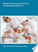 libro Mf1098_3   Diseño De Procesos De Servicio En Restauración