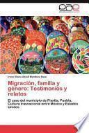 libro Migración, Familia Y Género