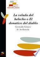 libro La Velada Del Helecho, O El Donativo Del Diablo