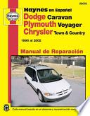 libro Plymouth Voyager Y Chrysler Town & Country Haynes Manual De Reparacion Por 1996 Al 2002