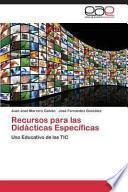 libro Recursos Para Las Didácticas Específicas