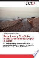 libro Relaciones Y Conflicto Intergubernamentales Por El Agua