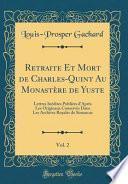 libro Retraite Et Mort De Charles-quint Au Monastère De Yuste, Vol. 2