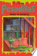 libro Sangre De Monstruo