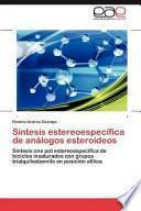 libro Síntesis Estereoespecífica De Análogos Esteroideos