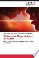 libro Sistema De Mejoramiento De Audio