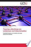 libro Teorías Efectivas En Sistemas Correlacionados