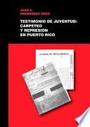 libro Testimonio De Juventud
