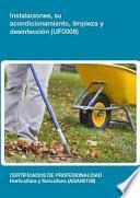 libro Uf0008   Instalaciones, Su Acondicionamiento, Limpieza Y Desinfección