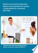 libro Uf1724 Gestión Económico Financiera Básica De La Actividad De Ventas E Intermediación Comercial