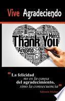 libro Vive Agradeciendo