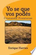 libro Yo Se Que Vos Pods / I Know That You Can