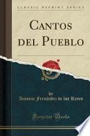 libro Cantos Del Pueblo (classic Reprint)
