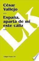 libro España, Aparta De Mí Este Cáliz