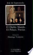 libro El Diablo Mundo ; El Pelayo ; Poesías