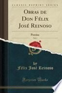 libro Obras De Don Félix José Reinoso, Vol. 1