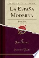libro La España Moderna, Vol. 11