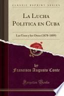 libro La Lucha Politica En Cuba