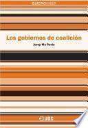 libro Los Gobiernos De Coalición