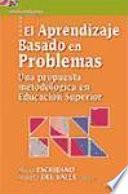 libro El Aprendizaje Basado En Problemas