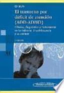 libro El Trastorno Por Deficit De Atencion (add Adhd) / Attention Deficit Disorder