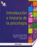 libro Introducción E Historia De La Psicología