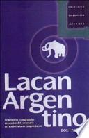 libro Lacan Argentino