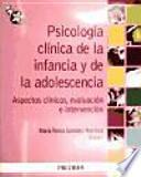 libro Psicología Clínica De La Infancia Y De La Adolescencia