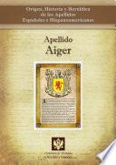 libro Apellido Aiger