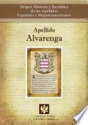 libro Apellido Alvarenga