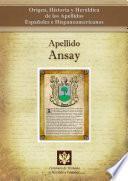 libro Apellido Ansay