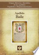 libro Apellido Baile