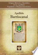 libro Apellido Barriocanal
