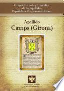 libro Apellido Camps (girona)